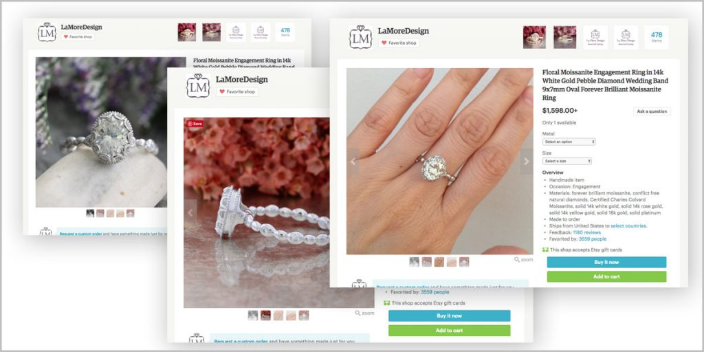 Shopping for Engagement Rings Online